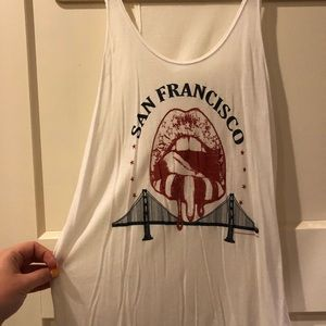 Brandy Melville San Francisco Tank